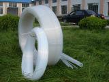 Шланг PTFE, пробка PTFE, трубопровод PTFE с белым, черно, цвет Brown