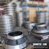 Pezzo di ricambio del frantoio del cono per l'OEM di Shanbao
