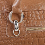 Sac d'emballage de traitement de dessus de loisirs de cuir véritable de sac à main d'épaule de femmes