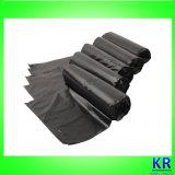 Les déchets en plastique de sacs de rebut de HDPE mettent en sac des sacs de détritus