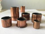 Peça bimetálica de bronze envolvida da máquina para o rolamento