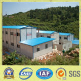 Casa modular del panel de emparedado del bajo costo
