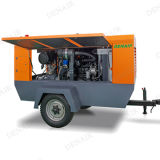 Compresseur d'air portatif diesel de haute fiabilité