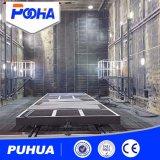 Cabine Peening de tiro de Puhua para a grande limpeza das peças
