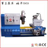 Exportado al torno europeo del CNC de la cara del extremo para dar vuelta al propulsor del astillero de 2500 milímetros (CK61250)