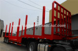 3 Hout van de Straal van assen het Concave/de Houten Semi Aanhangwagen van het Vervoer