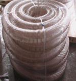 Boyau thermoplastique d'unité centrale avec le fil spiralé renforcé
