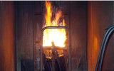 Tester verticale legato di diffusione della fiamma del cavo