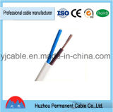 Rvvb CCA CCC 300/500V BS6500 flexibles flaches Hüllen-Kabel