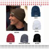 Шлем шерстей Beanie вязания крючком заплаты Emboirdery