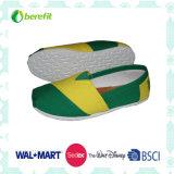 TPR Sole e lona superior, sapatilhas de lona para meninas