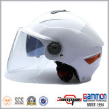 기관자전차 또는 모터바이크 또는 스쿠터 (HF314)를 위한 두 배 챙 헬멧
