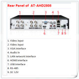 8 Kanal HD 1080P NVR NVR Ahd DVR Support 2PCS 4tb HDD