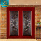 Populäres Design Entrance Wood Security Door für den Iran Market
