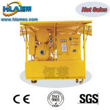 Équipement mobile d'épuration d'huile de transformateur de vide