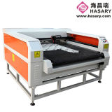 Precio de cuero de la máquina de grabado del laser de la ropa de la materia textil de la tela