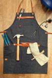 Guarnição feita sob encomenda do couro do avental da ferramenta da sarja de Nimes da alta qualidade e do serviço público