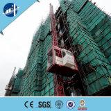 Passeggero esterno e carico della varia gru della costruzione