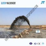 猫エンジンを搭載する18インチの油圧砂の浚渫の容器