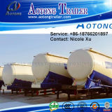 3 Radachse 28.6t Low Density Bulk Cement Tank Semi Truck Trailer (50m³) (LAT9402GFL)