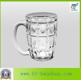 Tazza di vetro Kb-Hn0320 della chiavetta di vetro di alta qualità della tazza di birra