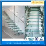 Top Glass Manufactures Verre de sécurité stratifié clair et teinté de 6,38 mm