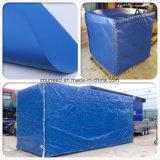 Couvertures imperméables à l'eau de bâche de protection de PVC de housses en toile de PVC pour des machines