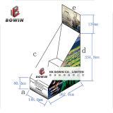 Visualización de la cartulina acanalada de la ventaja competitiva/visualización del papel/papel de la cartulina