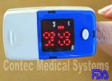 Des Contec Blut-Sauerstoff-LED Fotorezeptor-Überwachungsgerät Fingerspitze-Impuls-des Oximeter-SpO2