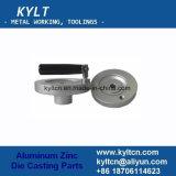 A liga de alumínio morre a roda de mão da carcaça com o suporte da baquelite/Micarta/Mecarta/Vulcanite