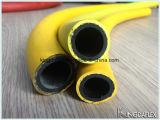 Boyau à haute pression 300psi de marteau de Jack de couverture jaune