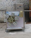 Технологическое оборудование трубы из волнистого листового металла потребления низкой энергии одностеночное