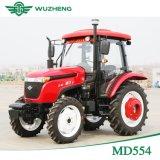 Nuovo trattore cinese dell'azienda agricola 55HP 4WD con la baracca da vendere