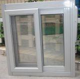Niedriger Preis-schiebendes Aluminiumfenster mit Moskito-Netz/Fliegen-Bildschirm