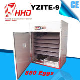 O Ce automático da incubadora do ovo da galinha de Hhd passou Yzite-9