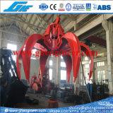 Gancho agarrador hidráulico para la basura sólida municipal Msw 8m3 10m3