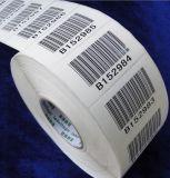 Etiqueta adesiva eletrônica feita sob encomenda com código de barras
