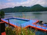 Het Zwembad van het Ponton van de vlotter