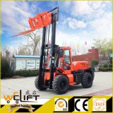 weg vom Straßen-Gabelstapler 3.5 Tonnen 4X4 Laufwerk-aller Gelände-Gabelstapler