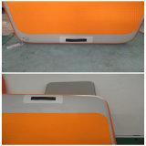 オレンジカラー水の膨脹可能なヨガのマット