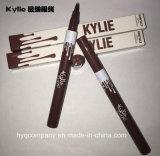 2016 impermeable negro y Brown Kylie Eyeliner líquido impermeable Eyeliner lápiz Eyeliner Pen