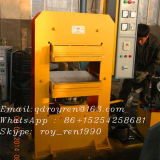 Estera de goma del surtidor de oro que hace la máquina, estera de goma que cura la prensa (XLB 800X800)
