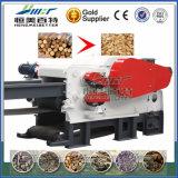 Le guide d'ingénieur installent avec des puces de sciure de fabrication du papier d'Aproved de la CE faisant la machine de moulin