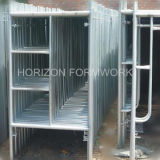 Puder Coated Scaffold Frame für Construction Supporting und Decoration Works