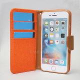 iPhone 6/6s를 위한 데님 가죽 손가락으로 튀김 덮개 전화 상자