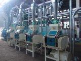 완전히 자동적인 옥수수 가루 가공 기계