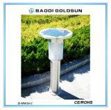 Luz repulsiva do diodo emissor de luz do mosquito solar ao ar livre de Goldsun
