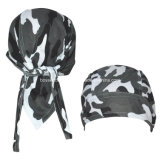 OEM Produce Customized Logo Imprimé Promotionnel Biker Snowboard Bandana Skull Caps Head Wrap