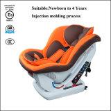O esqueleto do assento da segurança do carro de bebê detalha o grupo 0+1 com 3c/certificação do ECE