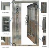 Puerta inoxidable de cristal del nuevo diseño de la alta calidad